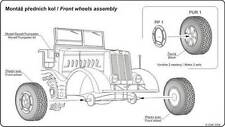 CMK Blitz B72017 1/72 Resin Detail Kit WWII Wheels for Opel Blitz (Roden)
