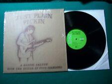 "Doug Chambers Just Plain Pickin' Zion LP 537 VG+ Gospel 12"" Religious Devotional"