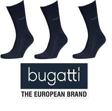 bugatti - Business Socken - 6 Paar - super soft- dunkelblau - Größe 39/42