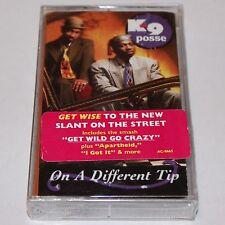 K-9 Posse On A Different Tip SEALED Cassette Tape w/ Sticker Hip Hop Rap Philly