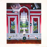 """Ferjo   """"The Red Room""""  Limited Edition Lithograph Signed & Numbered  COA"""