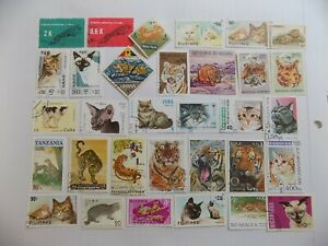 World Wide Topical Coll'n of used CAT stamps off paper -9-15-A-We combine ship