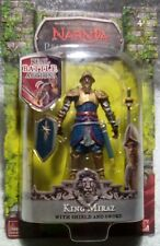 Chronicles of Narnia King Miraz (with shield and sword) NIB