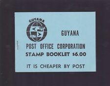 1981 Guyana AIR FISH $1 & 50 Stamp Set 2 blocks of 4 stamps  K-936