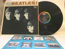 MEET THE BEATLES '64 MONO BRIT-POP EAST COAST RARE 1 BMI LABEL VARIATION EX+!!