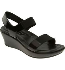Dansko Women's Antoinette Comfort Sandals Black Patent Leather Size 41