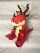 """Build a Bear Workshop How To Train Your Dragon Hookfang 16"""" Plush Red Dragon Bab"""