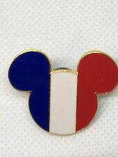 Disney Trading Pin - Mickey Icon France - Epcot World Showcase