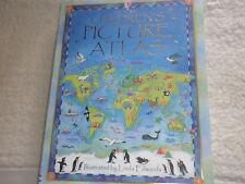 USBORNE CHILDREN'S PICTURE ATLAS:BRAND NEW HARDBACK BOOK