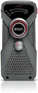 NEW LL Bean Eton Emergency Hand Turbine AM / FM Weather Radio and LED Flashlight