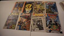 Lot Of 8 Batman DC Comic Book #441-448 VF-NM