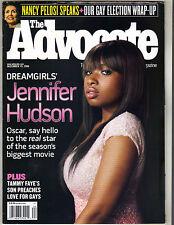 JENNIFER HUDSON DREAMGIRLS Advocate Magazine 12/19/06 NANCY PELOSI