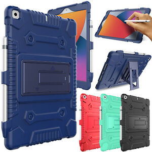 """For iPad 10.2"""" 2020 8th/7th Generation 2019 Shockproof Rugged Stand Case Cover"""