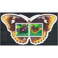 Pitcairn Islands 2005 Blue Moon Butterfly Stamp Miniature Sheet Mint Unhinged