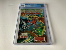 MARVEL TEAM UP 42 CGC 8.5 WHITE PAGES SCARLET WITCH VISION MARVEL COMICS 1976