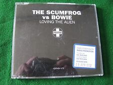 THE SCUMFROG vs BOWIE.. Loving The Alien  (2 Track CD Promo Single)