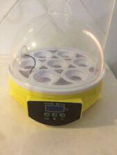 7 Egg Mini Incubator Euc