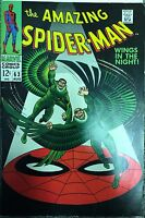 (1968) AMAZING SPIDER-MAN #63! THE VULTURE APPEARS!