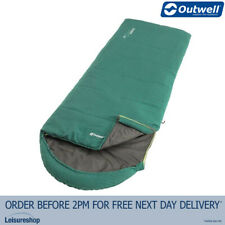 Outwell Campion Sleeping Bag Green - 2 Seasons/Camping/Tent/Hiking/Travel/230259