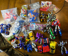 Transformers Mixed Toy Lot Dinobots, Decepticons, Toys 2000's Robots, Generation