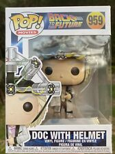 Back to the Future - Doc With Helmet #959 Funko Pop Vinyl New in box