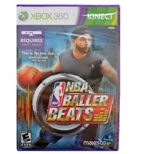 NEW FACTORY SEALED MICROSOFT XBOX 360 NBA BALLER BEATS FOR KINECT