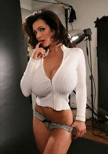 Lo último Sexy Foto A4. Denise Milani (8x12)