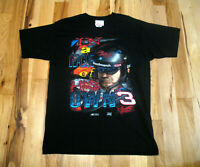 Dale Earnhardt Vintage In A League Of His Own 2 Sided Graphic Shirt Mens Large
