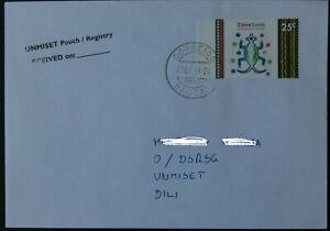 East Timor / Timor-Leste / Osttimor Domestic Cover UNMISET Baucau -> Dili 2003