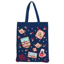 Studio Ghibli Japan Anime Kiki's Delivery Service Patch and Embroidery Tote Bag
