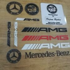 NEW PVC Car Auto Decal sticker emblem badge Fit for Mercedes Benz AMG C E CLA S