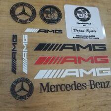 NEW PVC Car Auto Decal sticker emblem badge Fit for Mercedes Benz AMG C E CLA S
