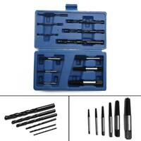 12pc Damaged Broken Screw&Stud Extractor Set Puller Remover Tool Easy Out