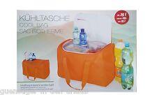 XXL Kühltasche ca. 25 Liter mit Extraöffnung für schnellen Zugriff 42x31x 24 cm
