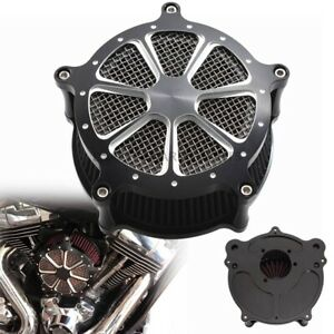 4 Holes CNC Air Cleaner Intake Filter Kits For Harley Touring Dyna Softail FLHT
