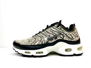 Nike Air Max Plus LX TN Womens Black Recycled UK 6 EUR 40 US 8.5 AR0970 001