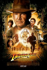 Movie Posters - Indiana Jones and the Kingdom of the Crystal Skull - 2008 - NEW