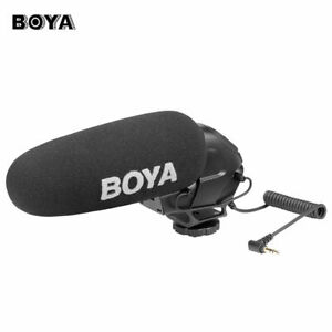 BOYA BY-BM3030 Microphone Stereo Connector Video Audio Recorders for Camera DSLR