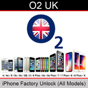 O2 / Tesco Mobile UK iPhone Factory Unlocking Service (All Models upto iPhone X)