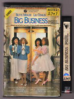 Big Business 1998 VHS VIDEO TAPE VINTAGE Clamshell case