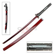 Murasama Red Metal Blade Gear Carbon Steel Rising Sword Katana Raiden Strap