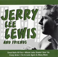 JERRY LEE LEWIS AND FRIENDS / CD - TOP-ZUSTAND