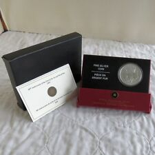 CANADA 2005 SECOND WORLD WAR SPECIMEN FINISH .9999 FINE SILVER $5 - compete