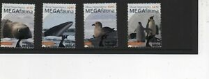 Ross Dependency stamps 2021 MEGAfauna set of 4 Used First Day Issue stamps