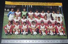 CLIPPING POSTER FOOTBALL 1986-1987 D2 AS BEAUVAIS MARISSEL ASBM PIERRE-BRISSON