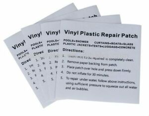 Inflatable Swimming Pool Puncture Repair Patch Kit for Bestway Intex Heavy Duty