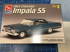 AMT ERTL 1963 Chevrolet Impala SS 1:25 scale Model Kit Opened Box Sealed content