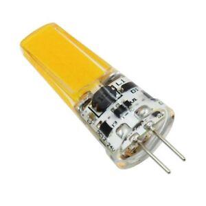 G4 Bi-Pin COB 2609 LED Lamp bulb White Warm AC DC 12-24V Cabinet light Droplight