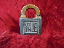 Vintage Yale Lock without Key Padlock YALE & TOWNE