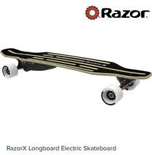 RazorX Electric Longboard Used In Good Condition With 2 Batteries and 2 Remotes